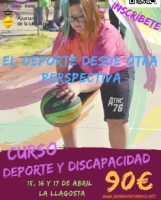 Curso Desporte y discapacidad