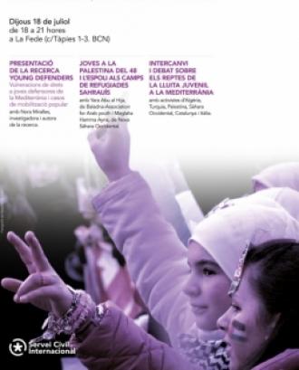 L'objectiu és poder definir el context de la situació de les joves a la Mediterrània per traçar estratègies de transformació i canvi des de la societat civil. Font: Servei Civil Internacional de Catalunya.