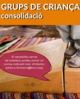 Cartell de la sessió 'Grups de criança: viabilitat, reflexions i consolidació'