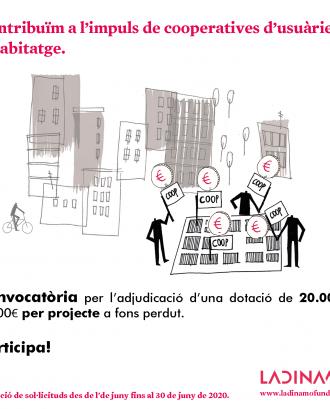 La Dinamo Fundació contribueix a l'impuls de cooperatives d'usuàries d'habitatge a Catalunya