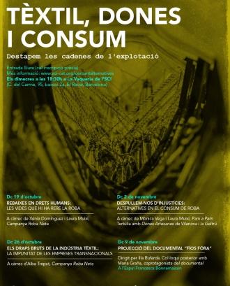 III Cicle Cercant Alternatives: Tèxtil, dones i consum