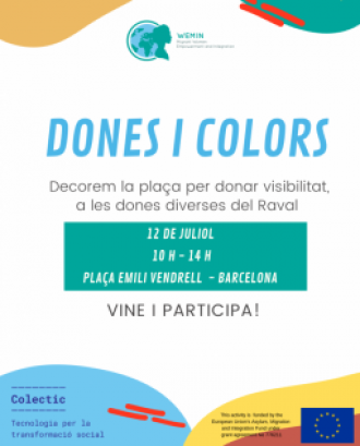 Cartell 'Dones i colors' (Colectic)