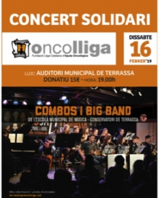 Concert solidari a favor d'Oncolliga