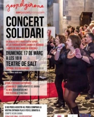Cartell de l'esdeveniment solidari