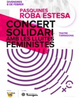 Les protagonistes de la vetllada seran les components del grup feminista Roba Estesa. Font: Tornavís Teatre.