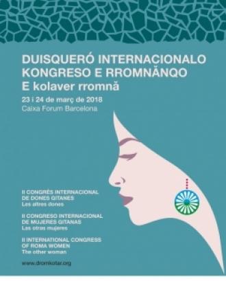 Cartell del II Congrés Internacional de les Dones Gitanes