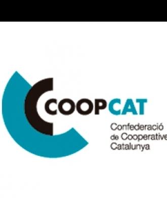 L'acte compta amb la presècia del president de la Generalitat Quim Torra. Font: Coopcat.