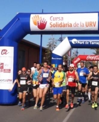 Participants a la cursa solidària URV. Font: Ràdio Ciutat de Tarragona