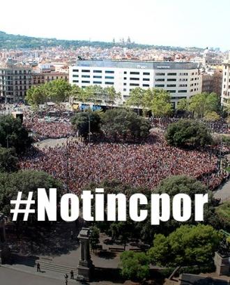 Concentració a Plaça Catalunya - Font: Gencat