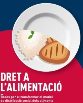 Cartell Jornada Dret a l'Alimentació. Foto: PEMB