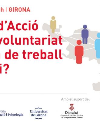 Disseny gràfic de la I Jornada d'Acció Social. Font: ECAS
