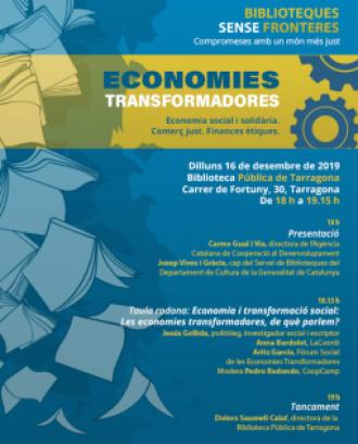 L'objectiu és aprofundir en els conceptes claus de les economies transformadores, el comerç just i les finances ètiques. Font: Generalitat de Catalunya.