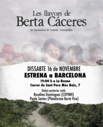 L'ambientalista i defensora dels drets humans hondurenya Berta Cáceres va ser assassinada el 2016. Font: Entrepobles.