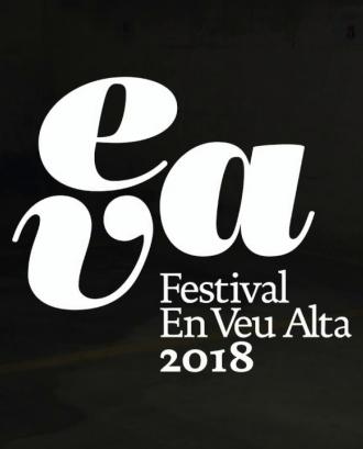 Imatge corporativa de l'Eva, el Festival en Veu Alta