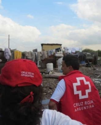 Inundacions a la ciutat de La Plata (Argentina). Font: ICRC