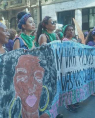 Imatge del cartell del XIX Feminari Dones Lleida: Feminismes i racisme