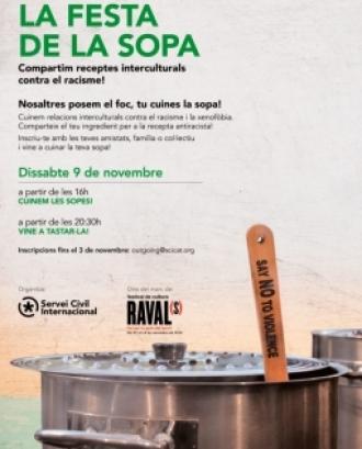 L'objectiu és compartir l'espai públic entre les veïnes del barri i de la ciutat, a l'hora que es coneixen i fan xarxa a través de la cuina. Font: Servei Civil Internacional de Catalunya.