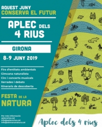 Festa de la Natura a Girona: l'Aplec dels 4 Rius