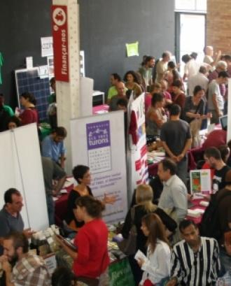 Fira de l'economia social i solidària celebrada a Barcelona. Font: PamaPam