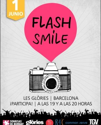 Flash Smile! Flashmob de Sonrisas de Bombay