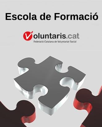 Cartell de l'Escola de Formació. Font: FCVS