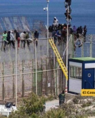Violació de drets humans cap a les persones immigrants a la Frontera Sud d'Espanya.