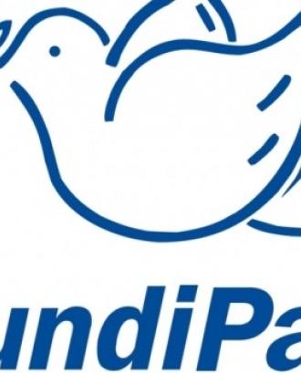 El logotip de FundiPau, l'entitat organitzadora de l'acte. Font: Fundipau