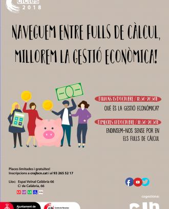 Cartell de la formació: Gestió econòmica per a entitats