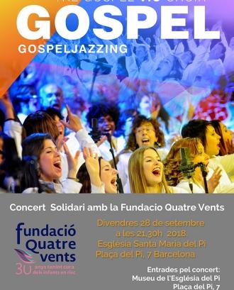 Concert solidari de gòspel