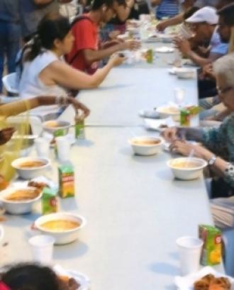 Amb l'Iftar es celebra el trencament del dejuni que suposa el Ramadà