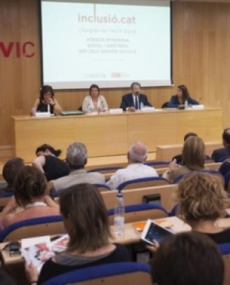 Presentació del II Congrés de Serveis Socials Bàsics 'Inclusió.cat'