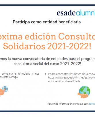 Convocatòria Consultors Solidaris