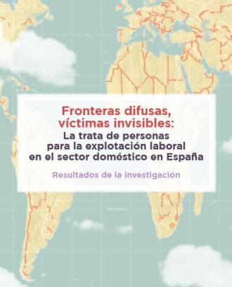 """Presentació de la investigació """"Tràfic de persones per a l'explotació laboral en el sector domèstic a l'estat espanyol"""""""