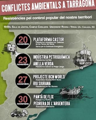 Jornades: Conflictes Ambientals a Tarragona