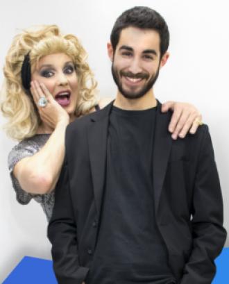 Nacho i Kyra, presentadors de 'La Cita'. Font: Bona Voluntat en Acció