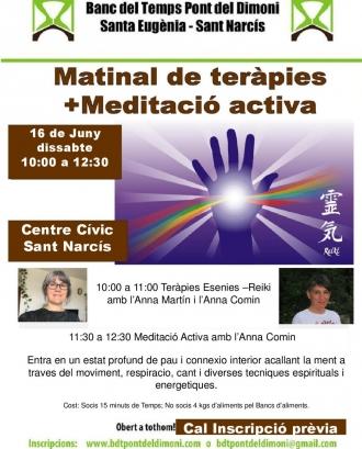 Matinal de teràpies + Meditació activa