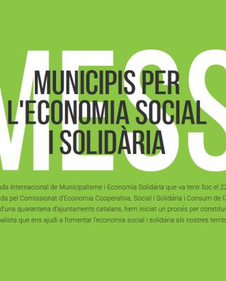 Municipis per l'economia social i solidària / Font: MESS