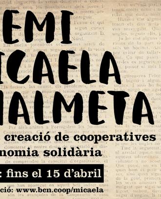Premi Micaela Chalmeta 2018