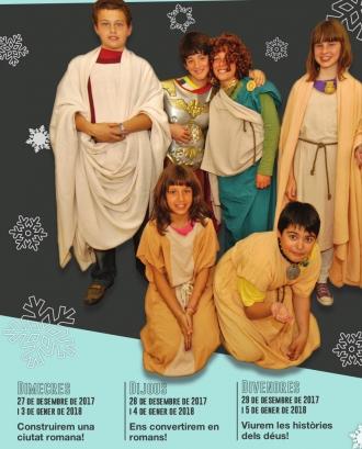 """Cartell de l'activitat """"Aquest Nadal vine al Museu Arqueològic!"""""""