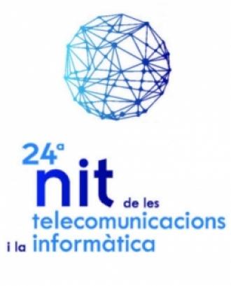 Imatge promocional de la 24a nit de les telecomunicacions i la informàtica.