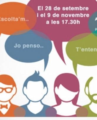 Taller formatiu de familiars de persones amb discapacitat intel·lectual i del desenvolupament. Font: Grup Sant Pere Claver
