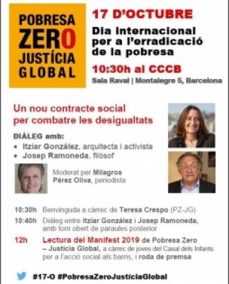 Diàleg amb Itziar González i Josep Ramoneda, 'Un nou contracte social per combatre les desigualtats'