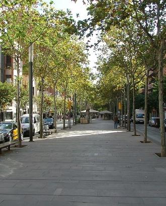 Rambla sant andreu barcelona - Wikimedia Commons