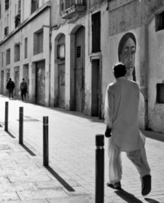 Un carrer del Raval. Autor: Davidlohr Bueso