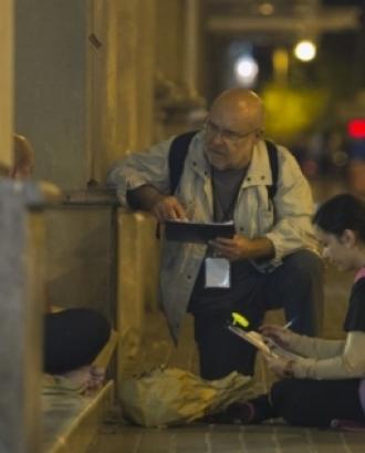 Recompte de persones sense llar a Sabadell