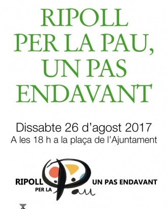 Cartell de la convocatòria - Font: Ajuntament de Ripoll