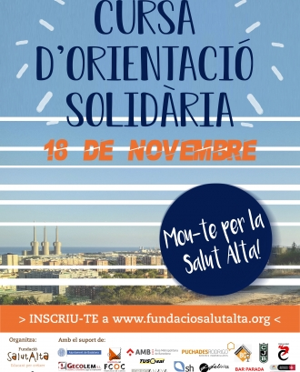 'Mou-te per la Salut Alta', la I Cursa d'Orientació Solidària!