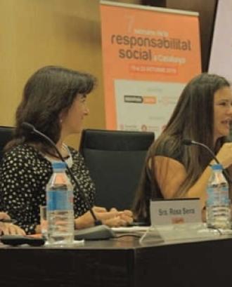 Taula rodona de la 7a Setmana de la Responsabilitat Social. - Font: Ingeniería Social