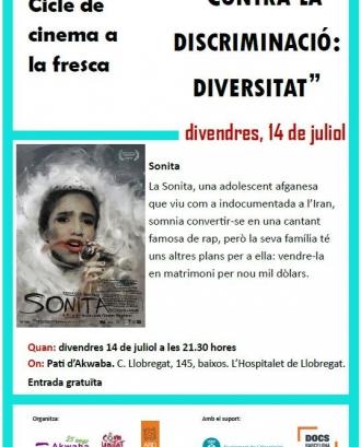 Cicle de cinema a la fresca 'Contra la discriminació: diversitat'