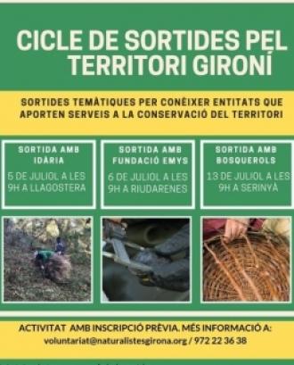 Cicle de sortides a través d'iniciatives d'economia social i solidària al territori gironí